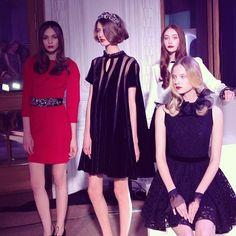LUBLU Kira Plastinina FW2013/14 Trunk Show #fw14 #fashion #fashionblogger #russiandesigners #loveit #beautiful #instadaily - @daria_kunilovskaya- #webstagram