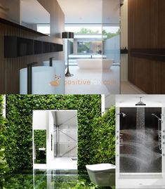 High Tech Interior Design is a modern design trend with focus on cutting-edge technology, straight lines, clear geometric shapes and futuristic furniture. Bathroom Interior Design, Modern Interior Design, Interior Decorating, Interior Ideas, Small Bathroom, Bathroom Ideas, Classic Bathroom, Futuristic Furniture, Amazing Bathrooms