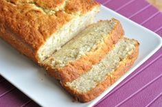 Buttermilk Banana Bread ~ Oh man this is the BEST banana bread I have ever had!  Make sure not to over mix once the flour is poured in and make sure the bananas are overripe and freckly all over.  We will definitely be making this one again and again!