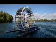 The Human Hamster Wheel: Chris Todd To Cross The Irish Sea Using A 'Tredalo'