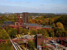 Complexe industriel de la mine de charbon de Zollverein à Essen