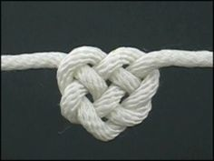 How to Tie a Celtic Heart Knot Learn to tie this awesome knot, and many other ornamental knots, from Fusion Knots.