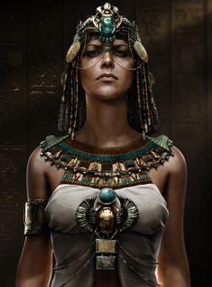 Cleopatra in Assassin's Creed Origins Egyptian Mythology, Egyptian Goddess, Egyptian Art, Egyptian Things, Assassins Creed Origins, Assassins Creed Odyssey, Medium Armor, Queen Cleopatra, Ancient Egypt Art