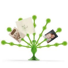 Freddy Feathers - Memo Note Holder for Desktop Notes Green Peacock (Office Product)  http://www.99homedecors.com/  B004S3QGUI