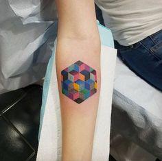 Geometric pattern by April Ramirez