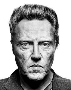 Portrait - Cristopher Walken
