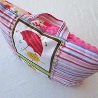 Na cestách i doma měkce je kuřeti,mně i žirafce / Zboží prodejce jeňapr | Fler.cz - shannon fabrics minky + Clothworks cotton :).