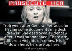 Daniel John Sobieski @gerfingerpoken2 19m19 minutes ago  (IBD) Why won't Hillary Get Prosecuted Like David Petraeus? - @IBDeditorials - #PJNET http://ift.tt/1Ni0QRb  -  137