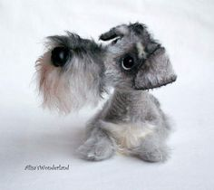 Salt and Pepper schnauzer the order By Alisa Shangina - Bear Pile