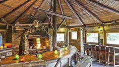 Chalet 26 pers - Ardennes - bbq house - jeux - sauna