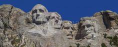 Panoramic image of Mount Rushmore granite sculpture in the Black Hills of South Dakota | World Panorama Stock Photo Agency Panoramic Images, South Dakota, Photo Library, Granite, Mount Rushmore, Stock Photos, Sculpture, Mountains, World