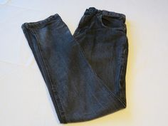 "Boys Hurley pants EUC 20 32"" 79 Slim denim jeans cotton black skate surf Youth #Hurley #Straight #JeansPants"