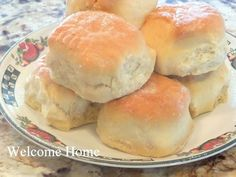 Butter Milk Biscuits   2 cups all-purpose flour   1/4 teaspoon baking soda  1 tablespoon baking powder   1 teaspoon salt  6 tablespoons butter, very cold   1 cup buttermilk    Preheat your oven to 450.