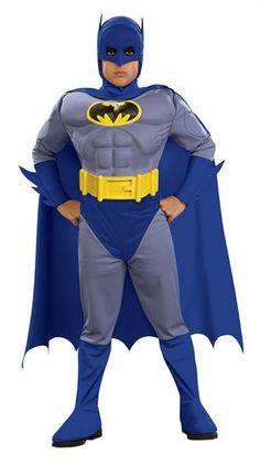Новогодний детский костюм бэтмена