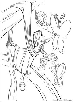 The Best Disney Tangled Rapunzel Coloring Pages Find This Pin And More On