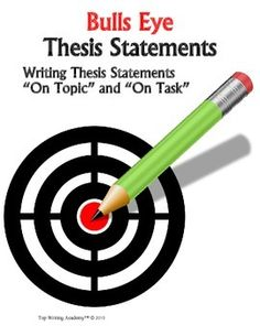 thesis statements in persuasive essays