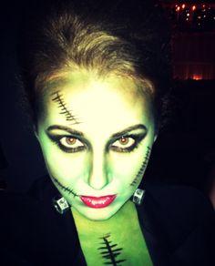 Frankenstein makeup!!