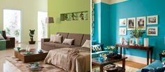 Сочетание цветов в интерьере гостиной, 32 фото интересных идей