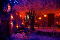 Relax with a 45 minute salt therapy session for 2 including lunch at the Himalayan Salt Cave, Cheadle.