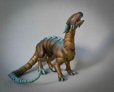 Dragon - Way up. Copyright fabulous creatures.