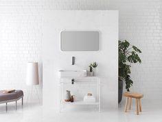 RETRO BLANCO - 100000837 - Serie RETRO - L'Antic colonial Lavabo Vintage, Colonial, Console, Boffi, Bathroom Collections, Bathroom Trends, Design Moderne, Creative Studio, White Marble