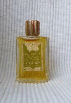 Sortilège de Le Galion : parfum de toilette vintage