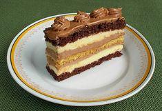 Hungarian Cake, Hungarian Recipes, Cake Recipes, Dessert Recipes, Desserts, Cream Cheese Flan, Cheddar Cheese, Nutella, Oreo