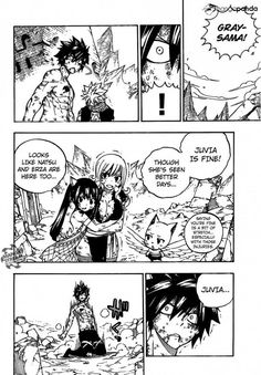 507 Reunions all around. NALU and Gruvia. SO happy to see Jellal again FINALLY I've been wondering when he'd show up again! Fairy Tail Manga, Read Fairy Tail, Fairy Tail Gruvia, Fairy Tail Art, Fairy Tail Guild, Fairy Tail Ships, Fairy Tales, Manga Font, Fairy Tail Couples