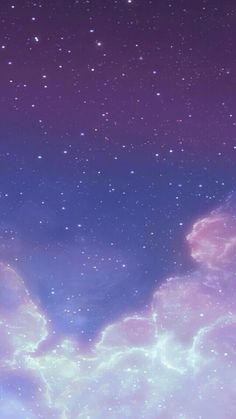 Sky aesthetic backgrounds, cute backgrounds, phone backgrounds, wallpaper b Galaxy Wallpaper Iphone, Glitter Wallpaper, Purple Wallpaper, Aesthetic Pastel Wallpaper, Kawaii Wallpaper, Cute Wallpaper Backgrounds, Tumblr Wallpaper, Cellphone Wallpaper, Pretty Wallpapers