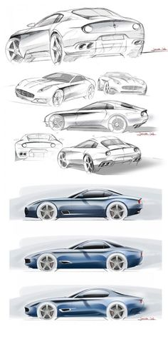 Touring Berlinetta Lusso celebrates the golden era of Italian carrozzeria - Car Body Design