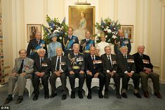 Prince Philip attended the photocall at the RAF Club with Prince William, Prince Edward an...