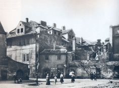 Ghetto - Cervena ulice kolem 1900 Prague Old Town, Jewish Ghetto, Frozen In Time, 10 Picture, Old Postcards, Czech Republic, Old Photos, Around The Worlds, Street View