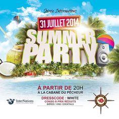 #summerparty à la #CabaneduPecheur  à Ngor.. demain à 20h.. http://www.wakhart.com/events/summer-party-a-la-cabane-du-pecheur/