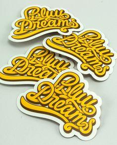 r406745773 bluu dreams1 30 Creative Examples of Sticker Design                                                                                                                                                                                 More