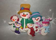 Polymer Clay Christmas Ornament  Cake Topper by alongcameaspider1, $26.50
