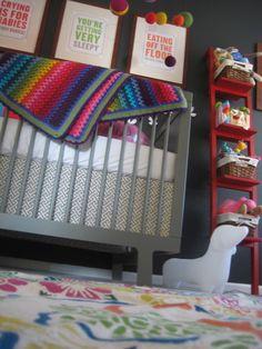 Rainbow colours nursery