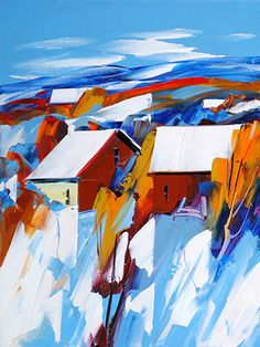"Christian Bergeron ""Le Hiver"" (Canadian artist)"