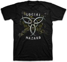 Social Hazard Christian t-shirt
