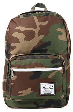 80e995be78 The Pop Quiz Backpack in Woodland Camo by HERSCHEL SUPPLY Receive 20% off  of your