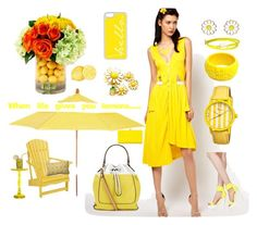 """When life gives you lemons, wear them"" by suzella on Polyvore"