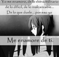 kuro neko san,siempre atina que decir Sad Anime, Anime Love, Kawaii Anime, Emo Love, Girl Humor, Totoro, Love Quotes, Nostalgia, Poems