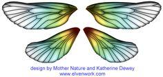 Fairy Wing Designs by Katherine Dewey
