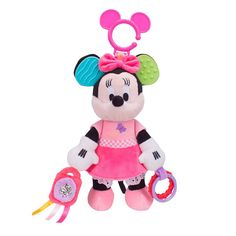 Conheça o sensacional Móbile Pelúcia Minnie Atividades,  uma linda figura da Minnie que vai conquistar as pequeninas!  Ela é muito adorável, encanta a todos com sua maciez e toda sua fofura.   Além disso, ela pode ser pendurada no berço e também possui acessórios para entreter os pequeninos.  Desenvolvidos com materiais de altíssima qualidade, ela está sempre pronta para distribuir muito amor e alegria por onde passa.