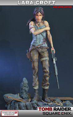 Tomb Raider Lara Croft Survivor 1:4 Scale Statue