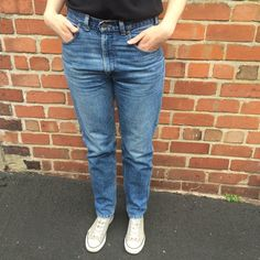 Vintage Levi's 516 Red Label Jeans Straight Leg by FoxFowweather