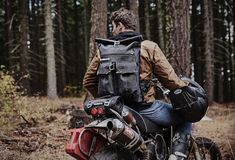 Speedway Roll-Top Backpack | Image
