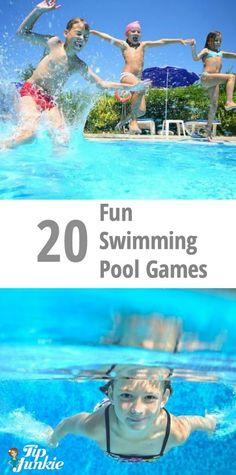 10 pool games for kids free printable pinterest pool. Black Bedroom Furniture Sets. Home Design Ideas