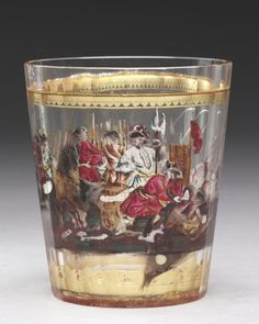 Glass Tumbler, c. 1730  Bohemia © Cleveland Museum of Art