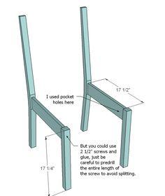classic-chair-plans-wood-make-diy-build-pine-4.png (583×692)