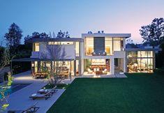 Casa Moderna con Cristal